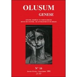 Oluşum Genèse N° 16