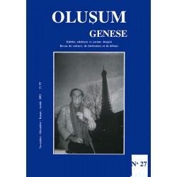 Oluşum Genèse N° 27